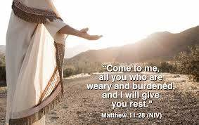 Give all you Burdens to Jesus! – A Safe Harbor is Jesus