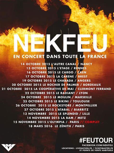 Nekfeu En Concert Dans Toute La France