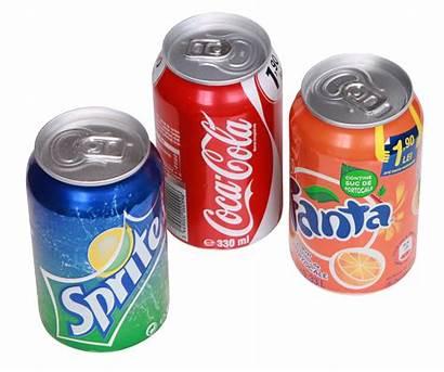 Soda Cans Fanta Cola Sprite Transparent Purepng
