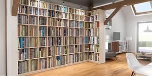 Regalwand Nach Maß : bibliotheken nach ma massivholz oder mdf qualit t und g nstiger preis ~ Sanjose-hotels-ca.com Haus und Dekorationen