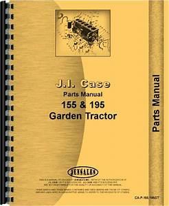 Case 195 Lawn  U0026 Garden Tractor Parts Manual