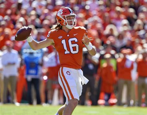 View Clemson Football Trevor Lawrence  Pictures
