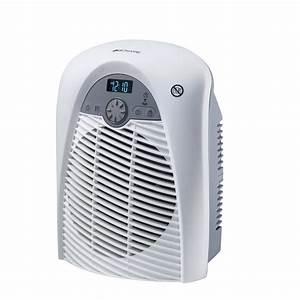Radiateur soufflant salle de bain mobile électrique BIONAIRE Bfh001x 01 2000 W Leroy Merlin
