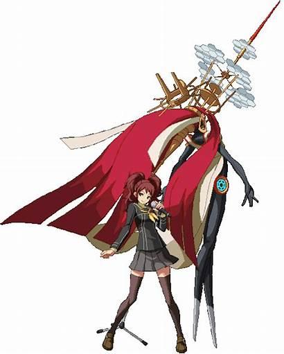 Rise Kujikawa Persona Himiko Arena Stance Animations