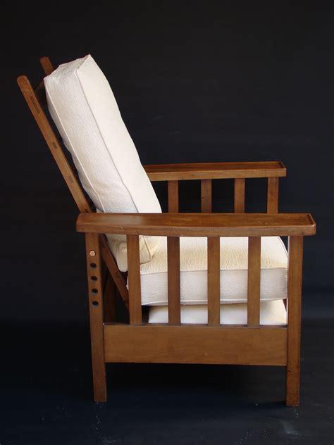 fauteuil chaise longue chaise longue fauteuil arts and crafts en acajou de