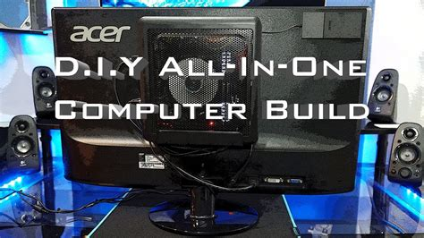 DIY All In One PC Build (Antec 25 Case) - YouTube