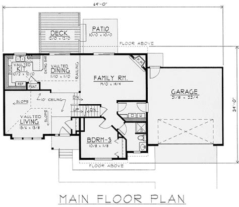 multi level house floor plans exciting multi level house plan 14010dt 2nd floor