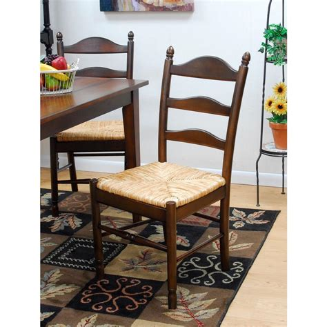carolina cottage vera dining chair in chestnut 575 nc