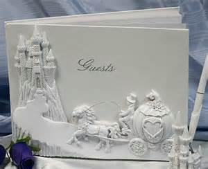 cinderella castle wedding cinderella carriage and castle wedding guest registry book cinderella tale wedding