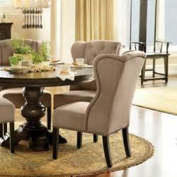 upholstered dining chairs a touch of beauty and coziness