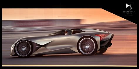 DS Automobiles presented sports car for the far future ...