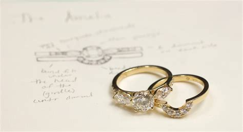 engagement ring vs wedding ring abby sparks jewelry