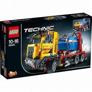 Lego Technic Occasion : lego technic 42024 le camion conteneur achat vente assemblage construction cdiscount ~ Medecine-chirurgie-esthetiques.com Avis de Voitures