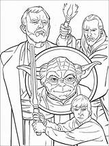 Pages Coloring Luke Skywalker Boys Yoda Wars Star Printable Mycoloring Coloringhit Recommended sketch template