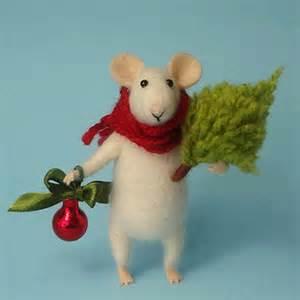 best needle felted christmas decorations products on wanelo