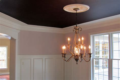 Dark ceilings are dramatic!   Design   Build   Remodel