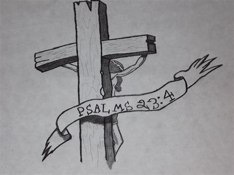 Jesus Cross Tattoo Psalms 234 By Bk662 On Deviantart