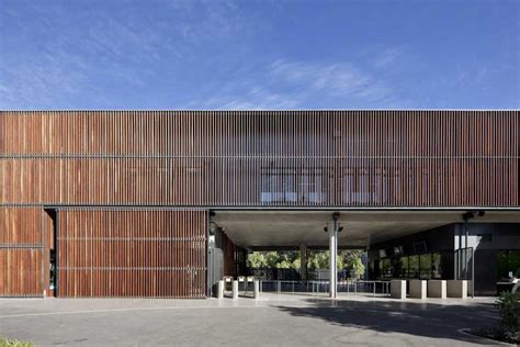 entrance zoo adelaide architecture facade timber screen precinct building australia north residential screens facades buildings hassell scott aib architect walker
