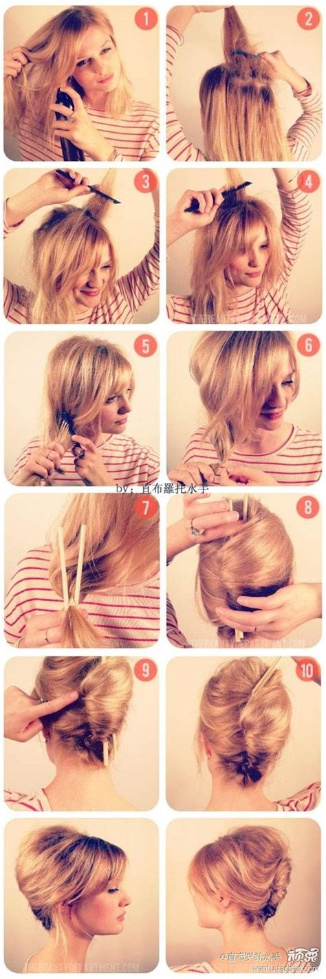 chopsticks style hairstyles to try pinterest