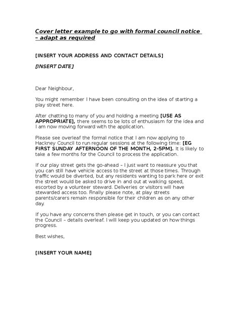 Cover-letter-to-formal-council-notice | Hackney Play