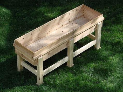 planter box plans nifty homestead