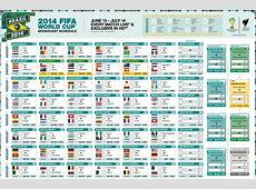 World Cup 2014 schedule in PDF, SBS and FIFA app – Product
