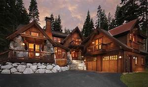 Rustic Big Houses in the Country Decorating Idea - HOUSE