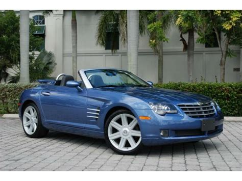 2008 Chrysler Crossfire For Sale by 2008 Chrysler Crossfire Roadster Limited Convertible