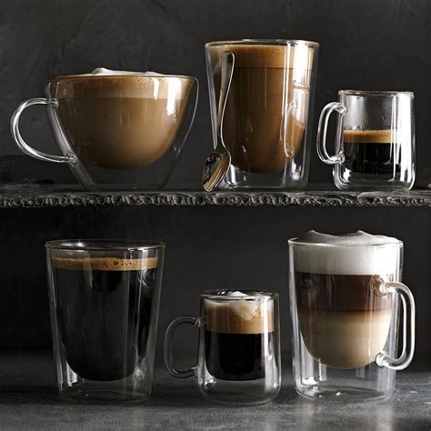 Please contact us at the free hotline at 888 236 5118 or mail info@cupprint.com for more details. Double-Wall Glass Coffee Mugs, Set of 4 | Williams Sonoma CA
