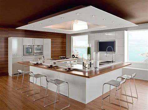 cuisine ilot central bar design cuisine ilot central japonais inspirations et