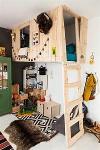 Lit Maison Enfant : le lit mezzanine ou le lit superspos quelle variante ~ Farleysfitness.com Idées de Décoration