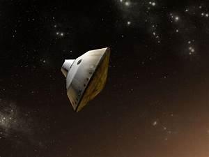 NASA - Curiosity Inside Aeroshell, Artist's Concept