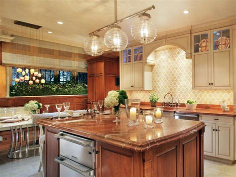 Kitchen. Lighting Ideas In The Kitchen And Dining Room