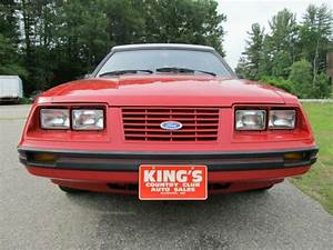 1984 Ford Mustang Lx 5 0 H O  Convertible Low Mileage