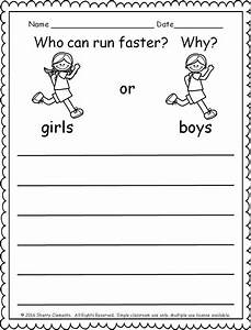 Opinion Writing Worksheets For 1st Grade