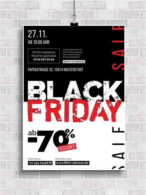 vorlagen im black friday design plakate und flyer zur werbung