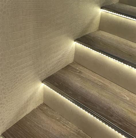 Stufenbeleuchtung Außen by Beleuchtete Stufen Led Treppenbeleuchtung Treppen