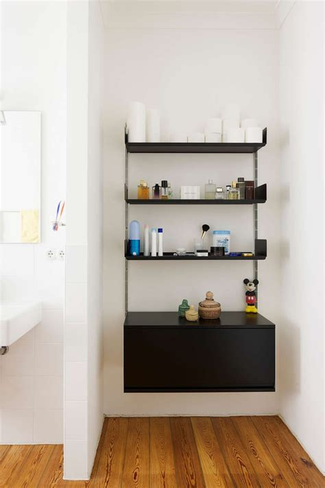 Bathroom Storage Systems by The 606 Universal Shelving System Is Also Available In