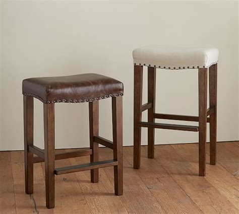 Backless Stools by Manchester Backless Bar Stool Pottery Barn