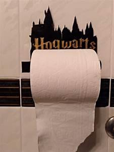 harry potter hogwarts toilet roll holder by pleonr08