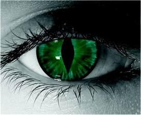 Green Cat Eye Contact Lenses