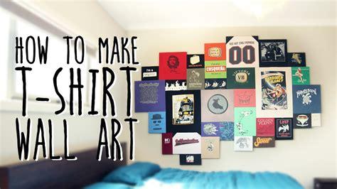 shirt wall art super easy youtube