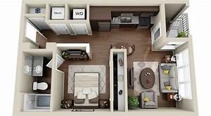 3dplanscom With studio apartment floor plans 3d