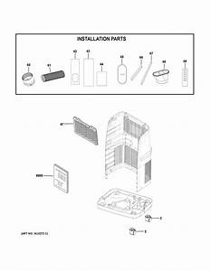Haier Hpc12xcr Room Air Conditioner Parts