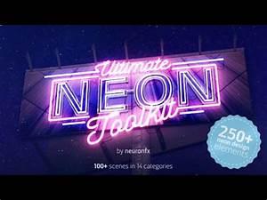 Ultimate Neon Toolkit Neon Sign Mockup Kit