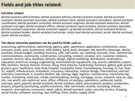 Questions For Dental Assistant by Top 36 Dental Assistant Questions And Answers