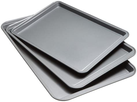 baking sheet pans cookie stick non cook sheets
