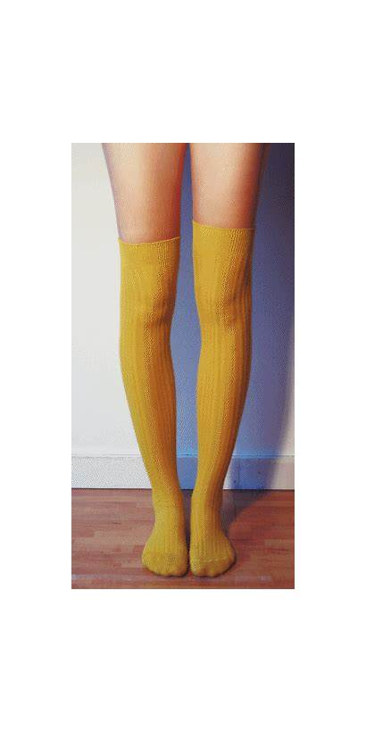 Socks Knee Thigh Sock Mood Feet Things
