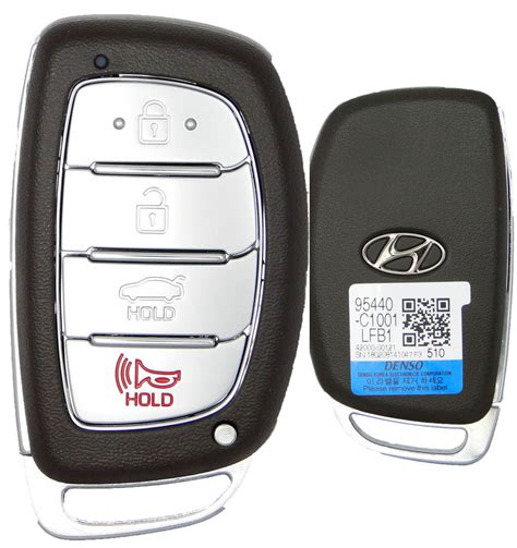 Hyundai Sonata Key by 2017 Hyundai Sonata Smart Remote Keyless Entry Key Key