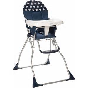 cosco flat fold high chair spangled walmart